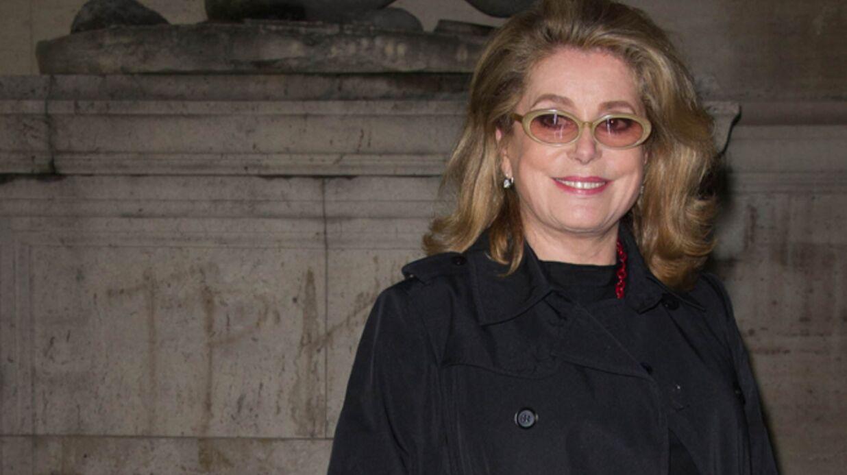 Catherine Deneuve balance sur Alain Delon et Sylvester Stallone