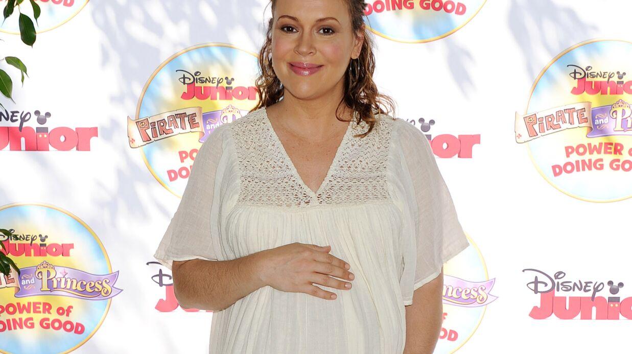 Alyssa Milano est maman pour la deuxième fois