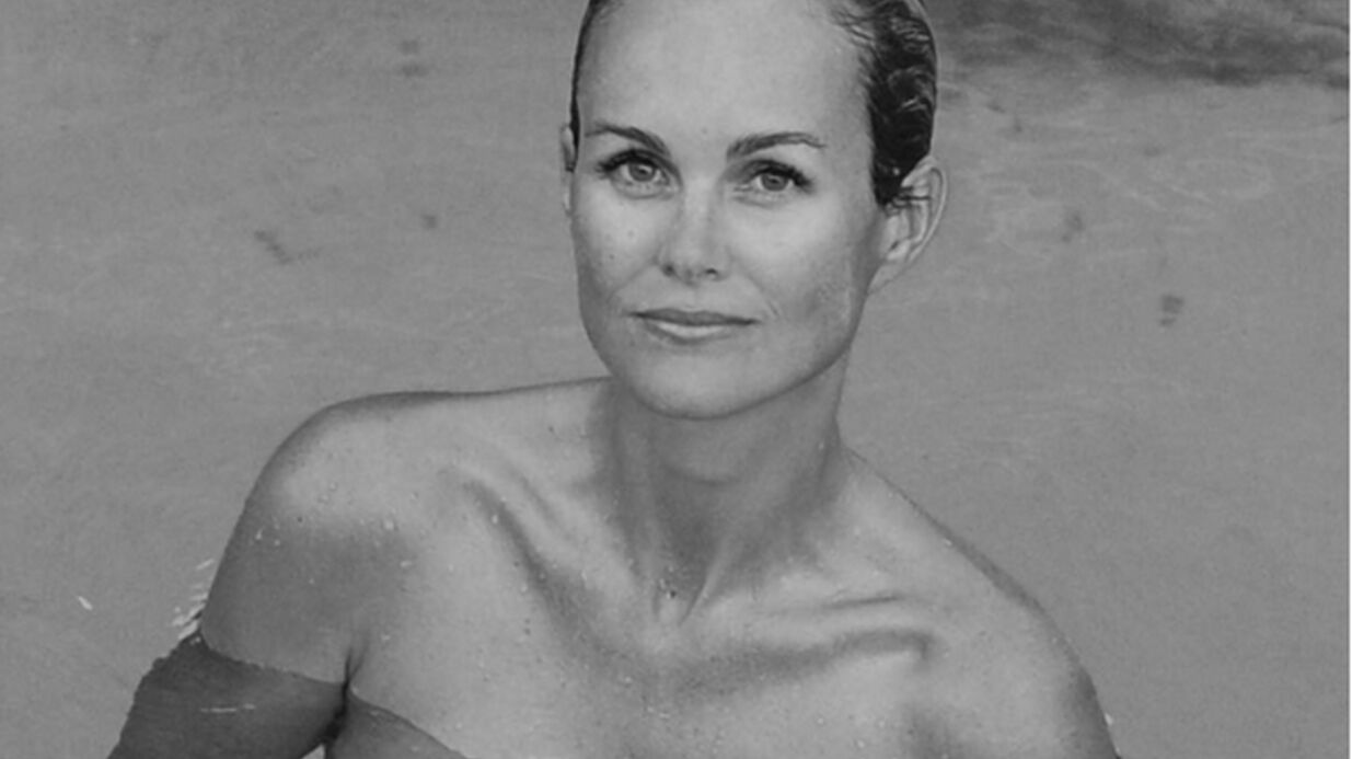 PHOTOS Laeticia Hallyday prend la pose topless à Saint-Barth