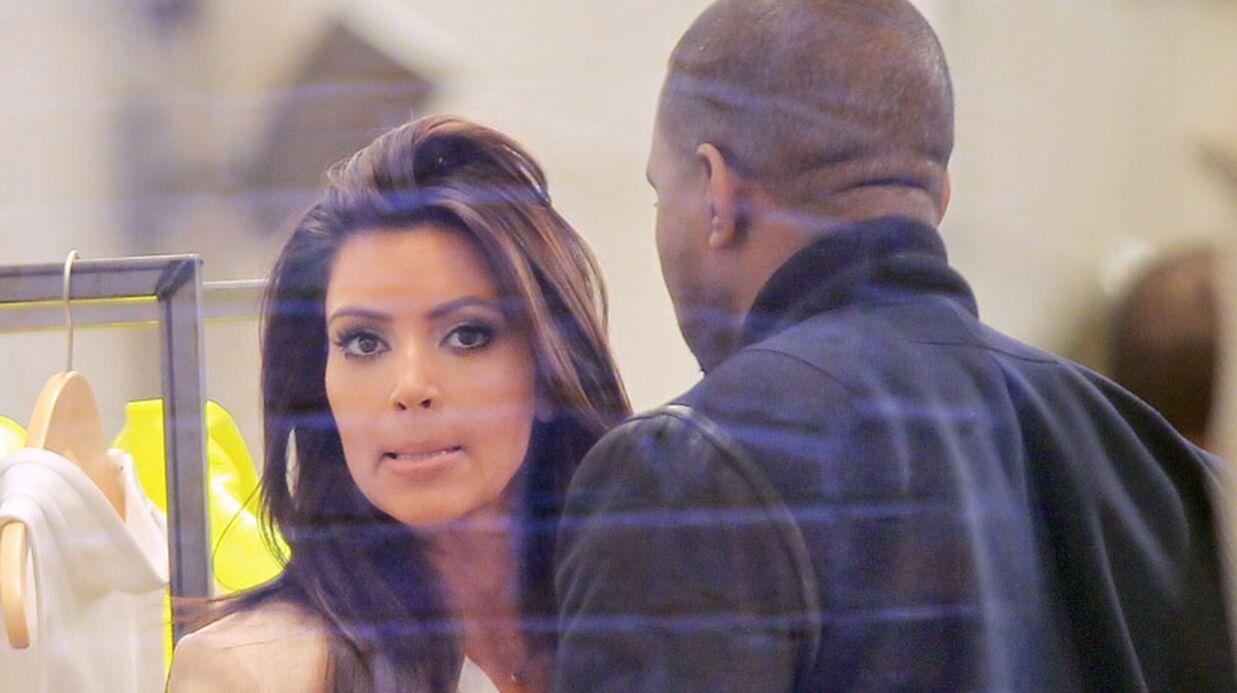 PHOTOS Kanye West et Kim Kardashian en couple