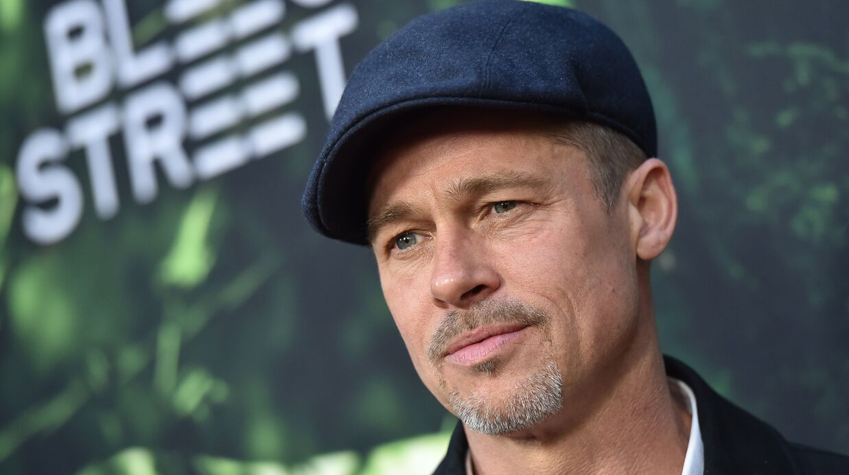 PHOTOS Brad Pitt appa­raît très amai­gri à l'avant-première de The Lost City of Z