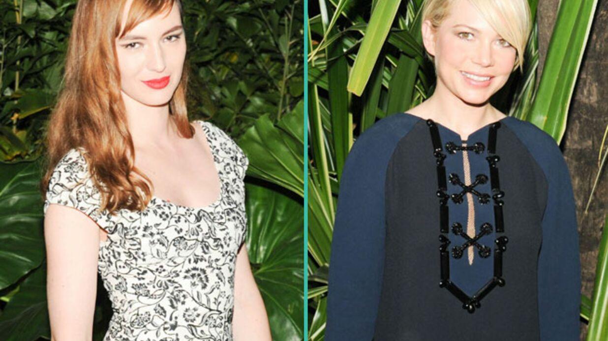 PHOTOS Louise Bourgoin et Michelle Williams, hyper tendances pour Louis Vuitton