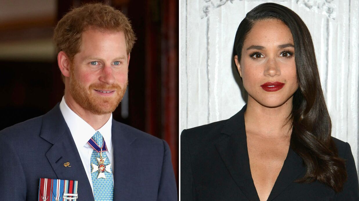 Le prince Harry fait une surprise très roman­tique à Meghan Markle, son amou­reuse