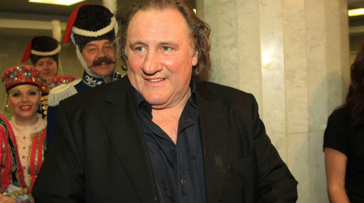 Gérard Depardieu a reçu son passeport russe