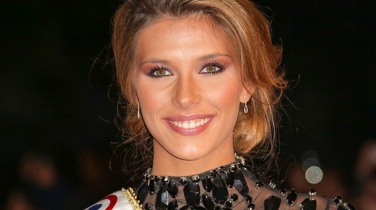 PHOTOS Camille Cerf: découvrez la robe et le maquillage de Miss France 2015 pour Miss Univers