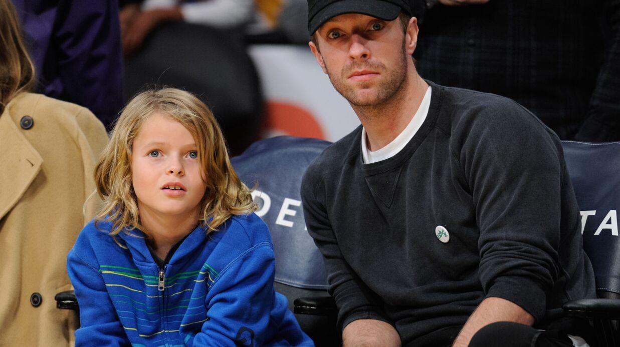 PHOTO Chris Martin en virée père-fils avec Moses, véritable sosie de Gwyneth Paltrow