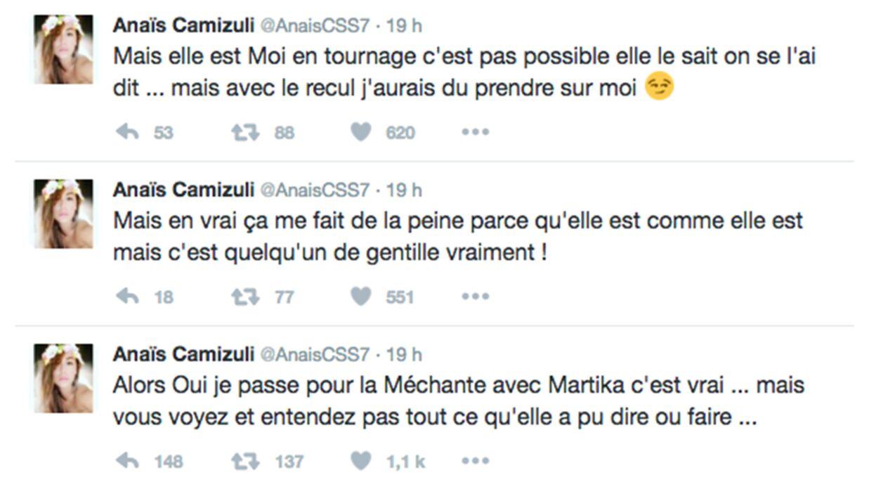 Anaïs Camizuli s'explique sur ses clashs avec Martika dans La Villa des Cœurs Brisés
