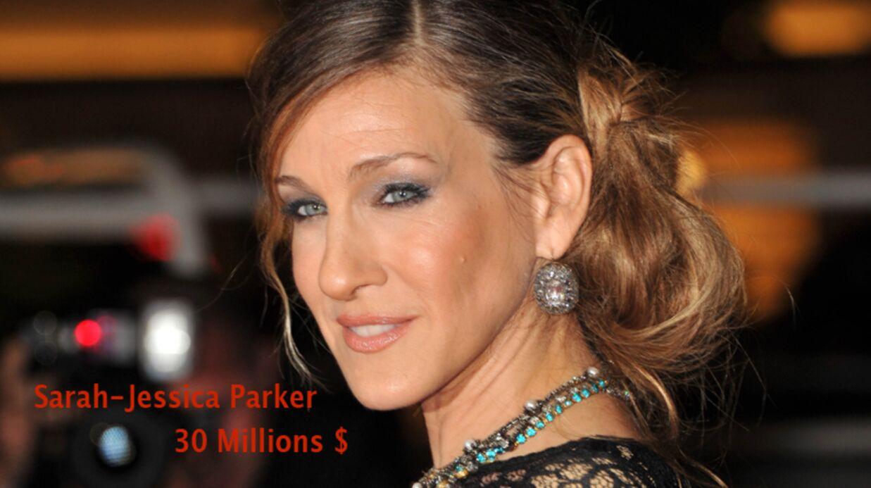 Classement des dix actrices américaines les mieux payées