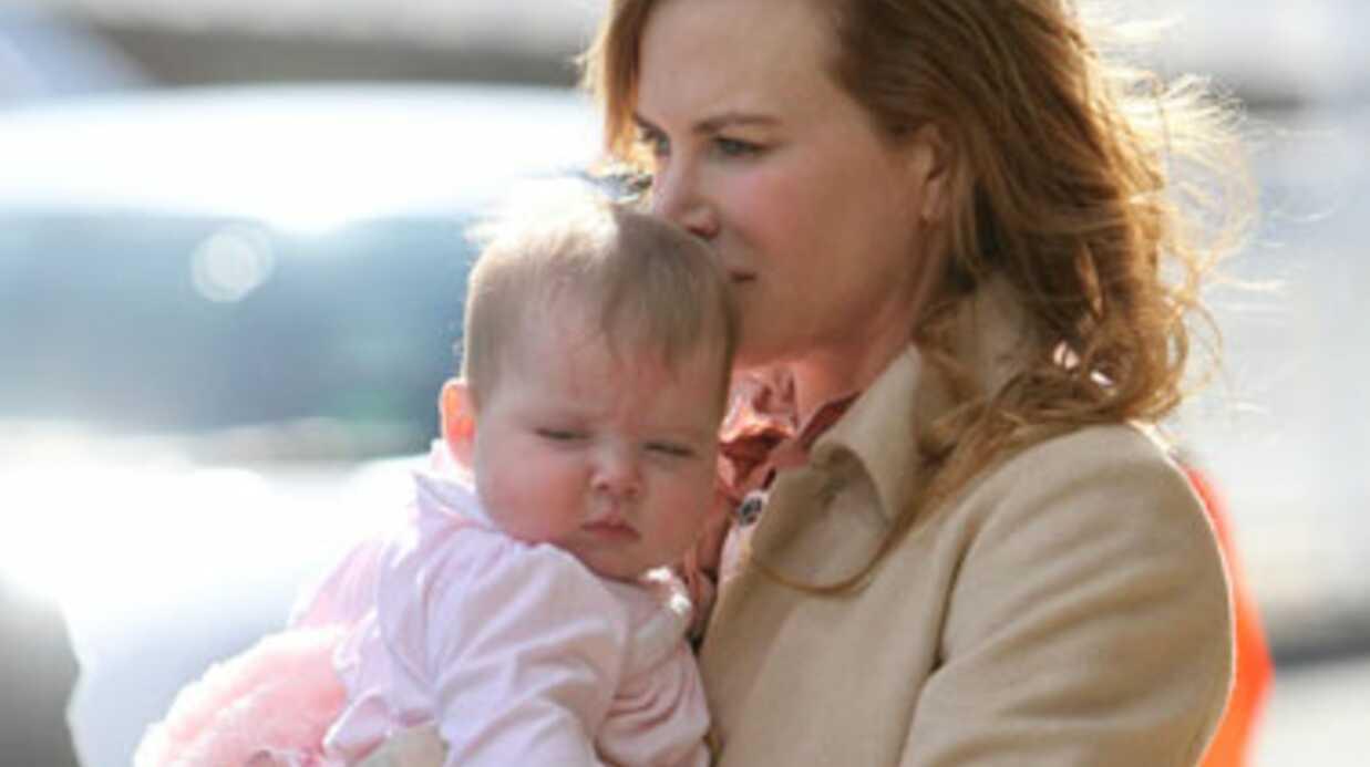 DIAPORAMA Nicole Kidman présente son trésor, Faith