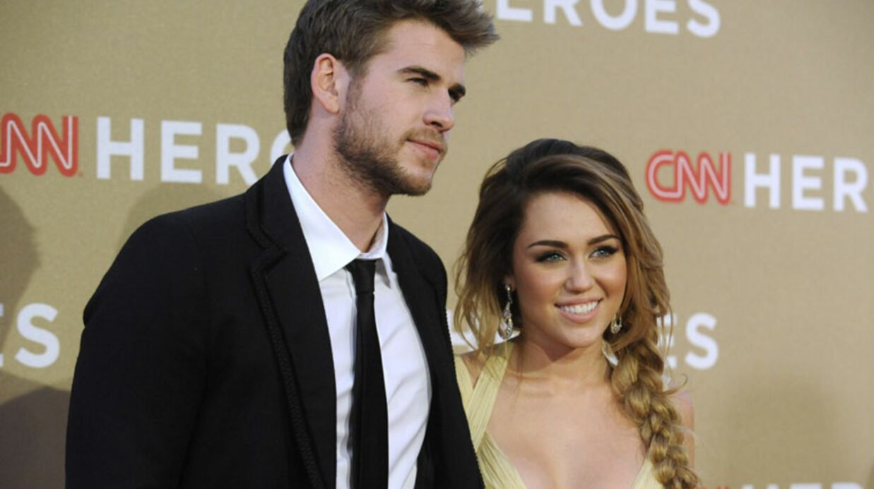 Miley Cyrus est fiancée à Liam Hemsworth