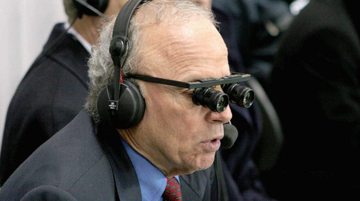 Thierry Roland: un problème de santé le prive du début de l'Euro 2012