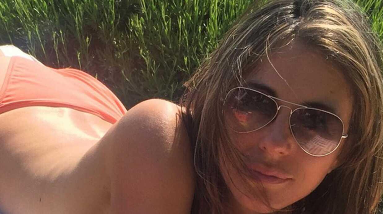 PHOTO Topless, Elizabeth Hurley s'offre du bon temps au soleil