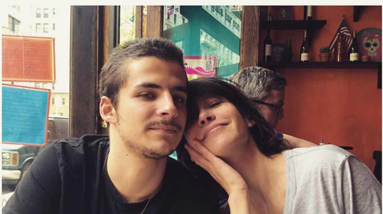 PHOTO Retrouvailles complices à New York entre Sophie Marceau et son fils Vincent Zulawski