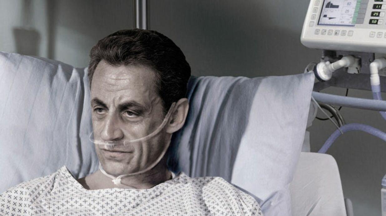 Sarkozy, Bayrou et le Pen mourants pour une campagne de pub