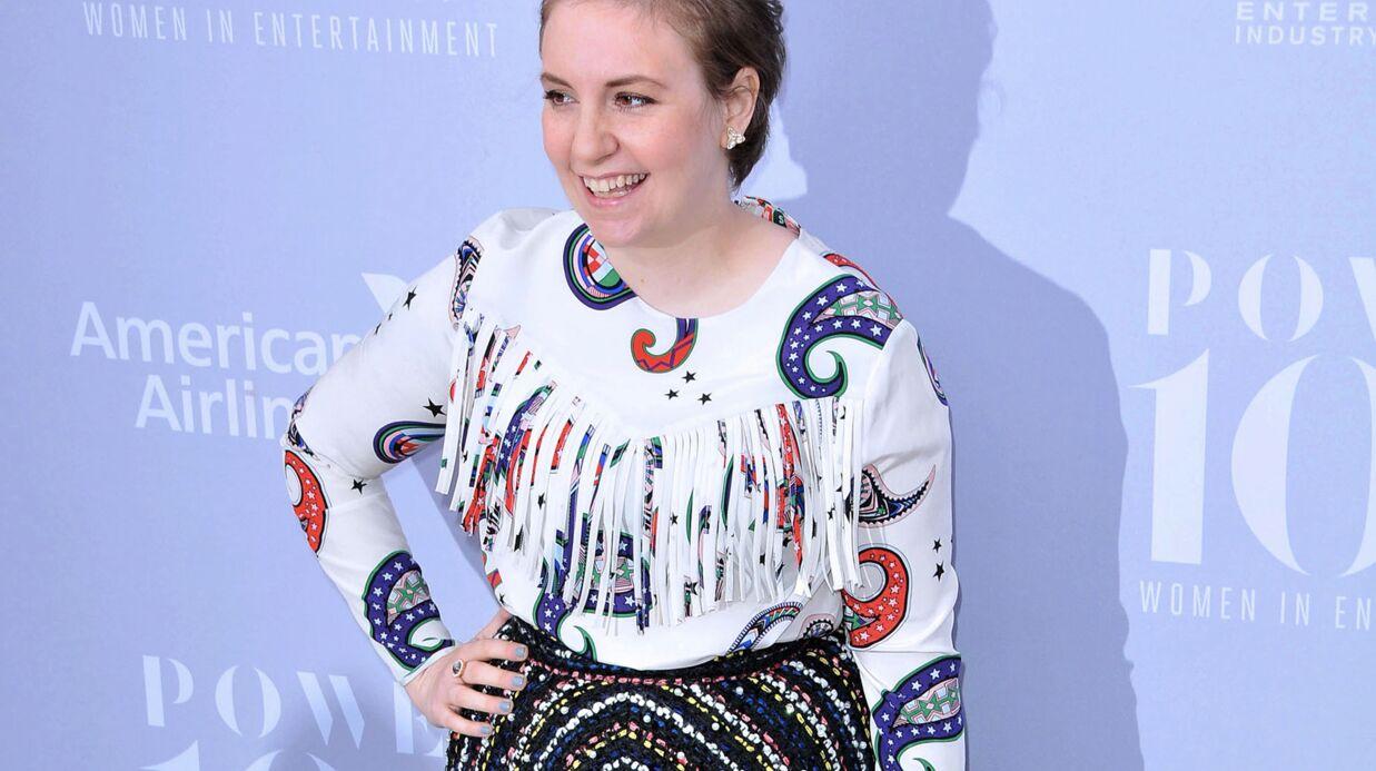 Lena Dunham hospitalisée après la rupture d'un kyste ovarien