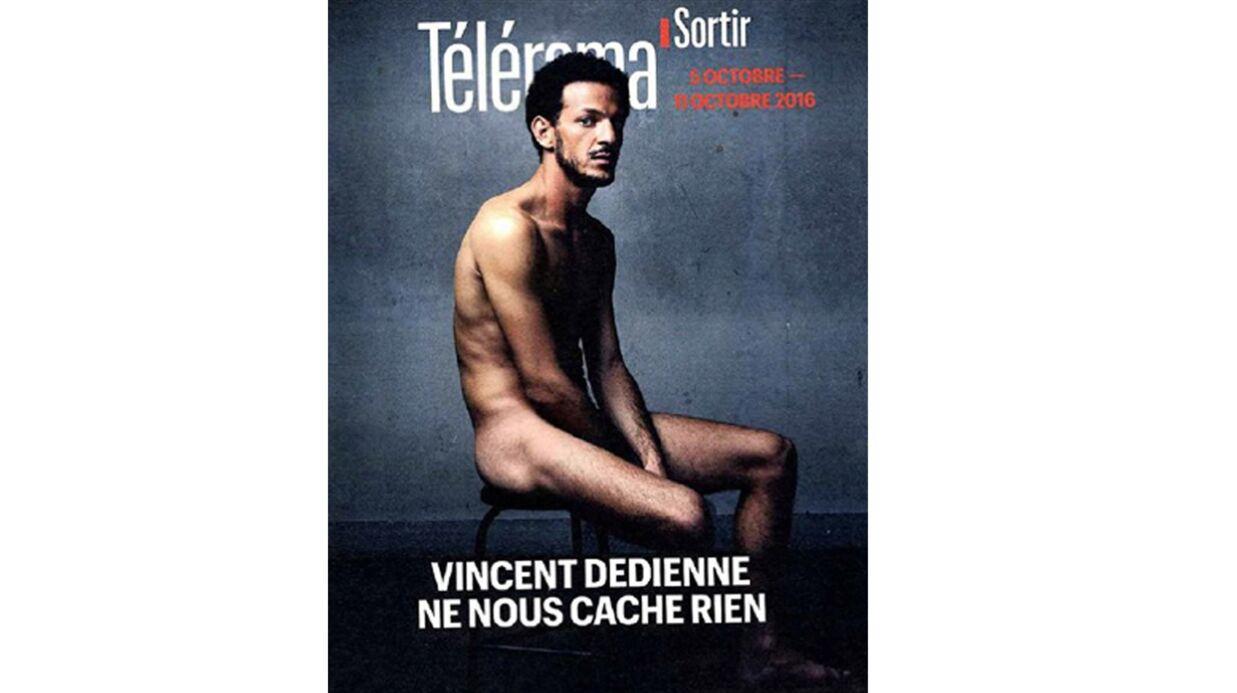 PHOTO Vincent Dedienne tout nu en couverture de Télérama Sortir