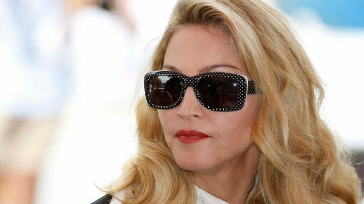 VIDEO Madonna fait une boulette pendant une conférence de presse