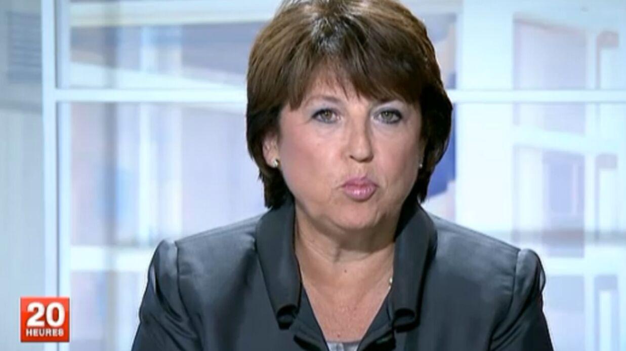 David Pujadas paie cher sa politesse envers Martine Aubry