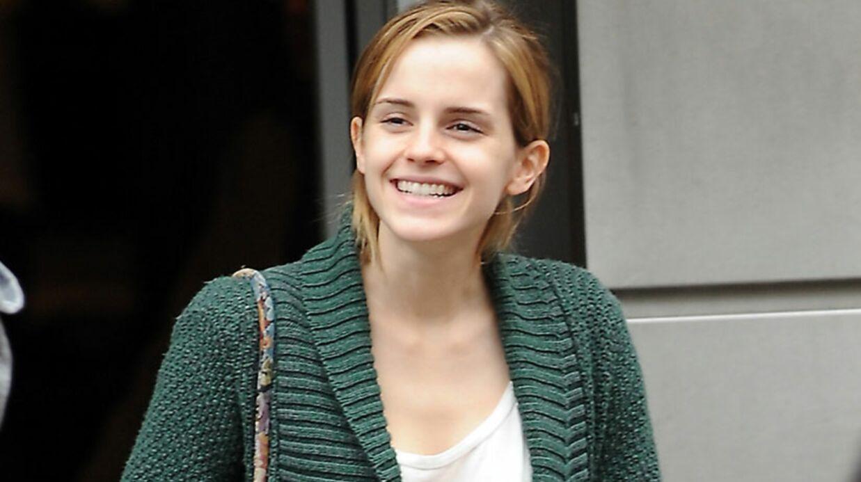 Karl Lagerfeld a offert une canne à pêche à Emma Watson