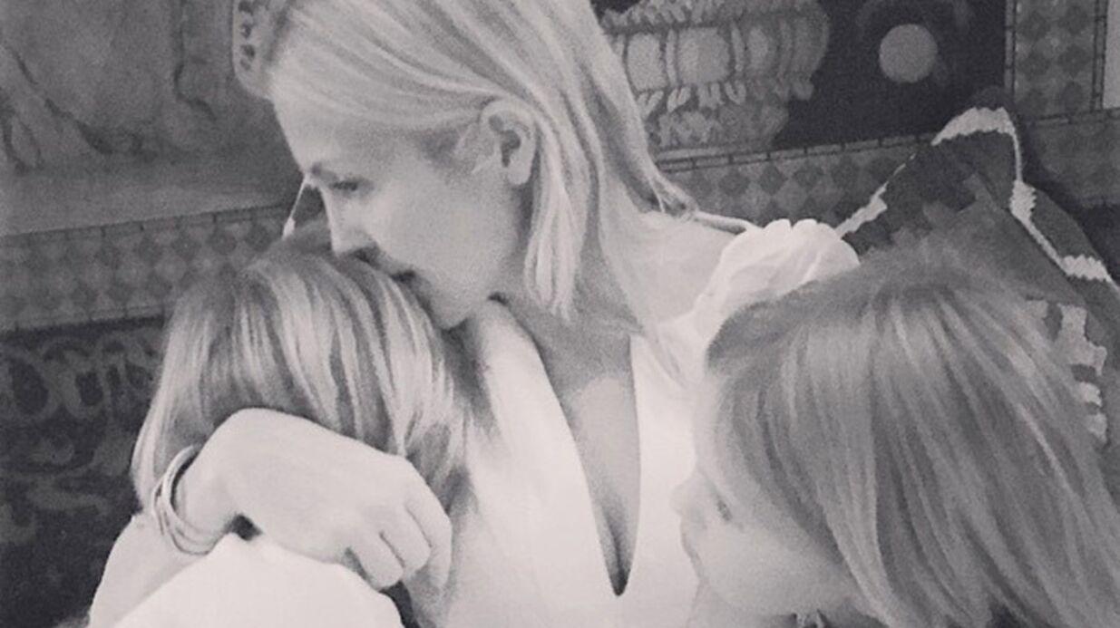PHOTO Kelly Rutherford a pu revoir ses enfants à Monaco