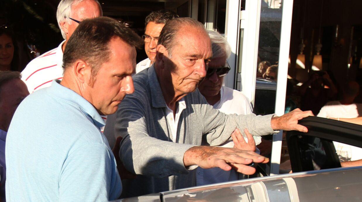 PHOTOS Jacques Chirac fatigué à Saint-Tropez