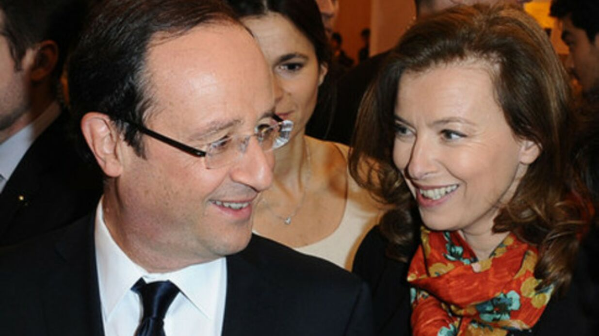 Valérie Trierweiler continuera de travailler même si François Hollande est élu