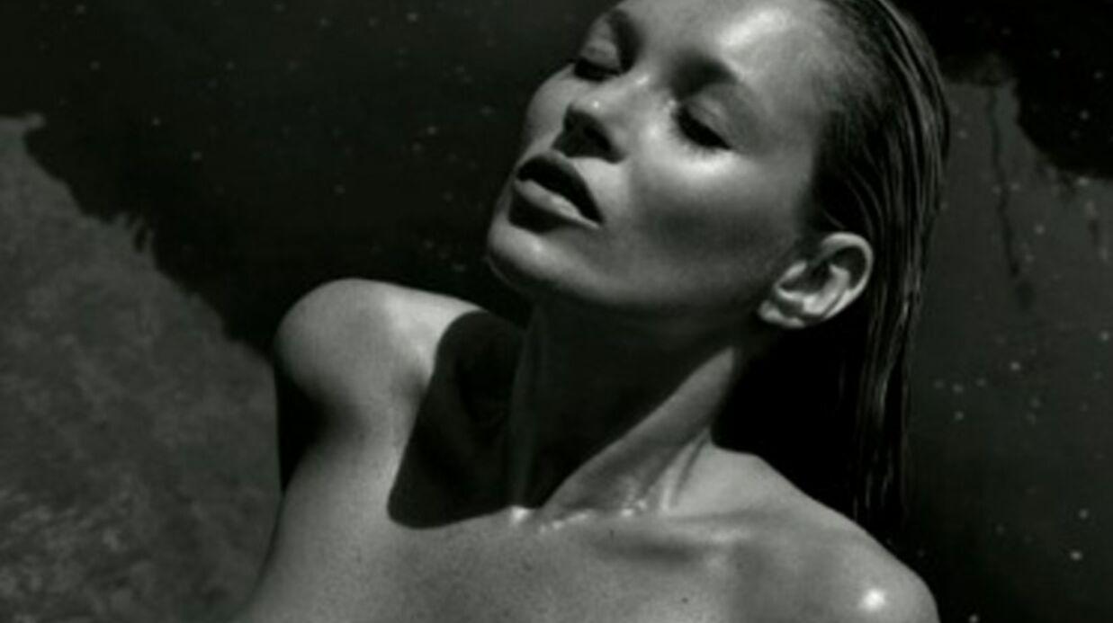 PHOTOS Kate Moss nue dans le calendrier Pirelli 2012