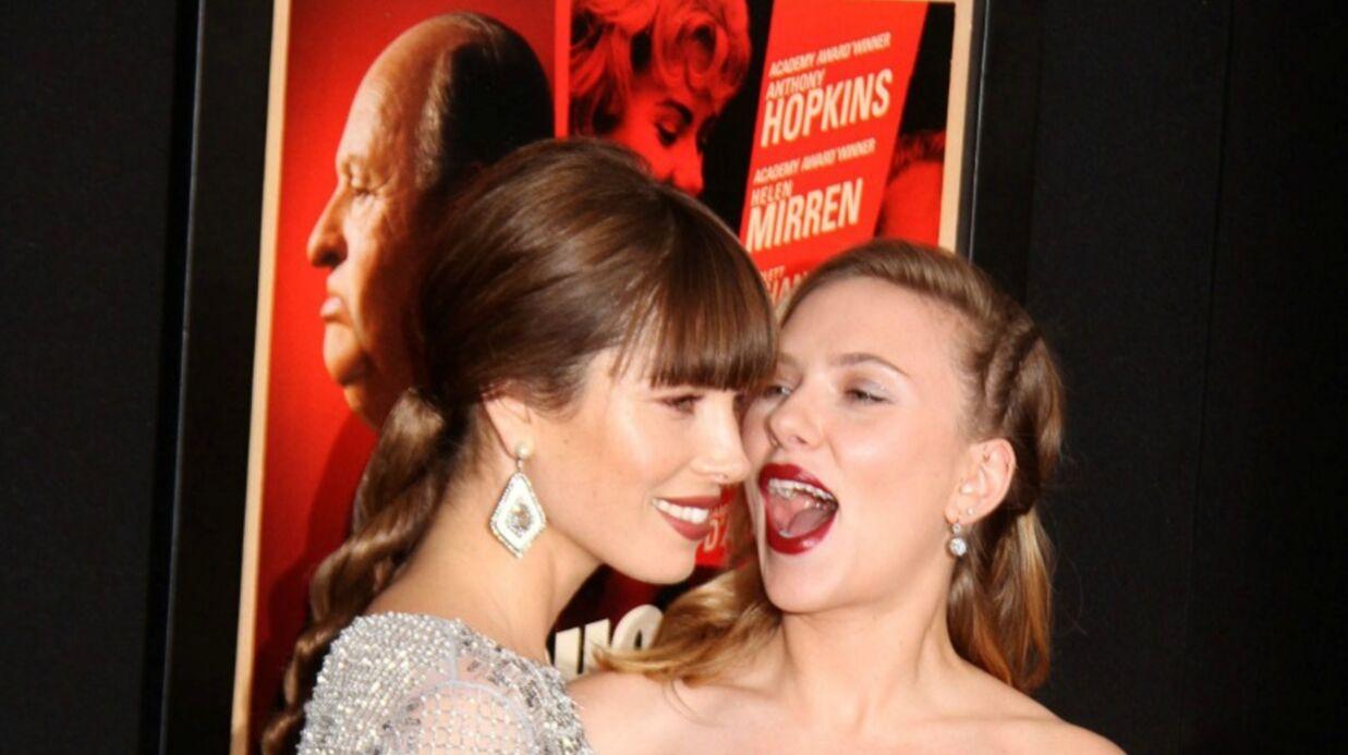 Jessica Biel et Scarlett Johansson se disputent Justin Timberlake