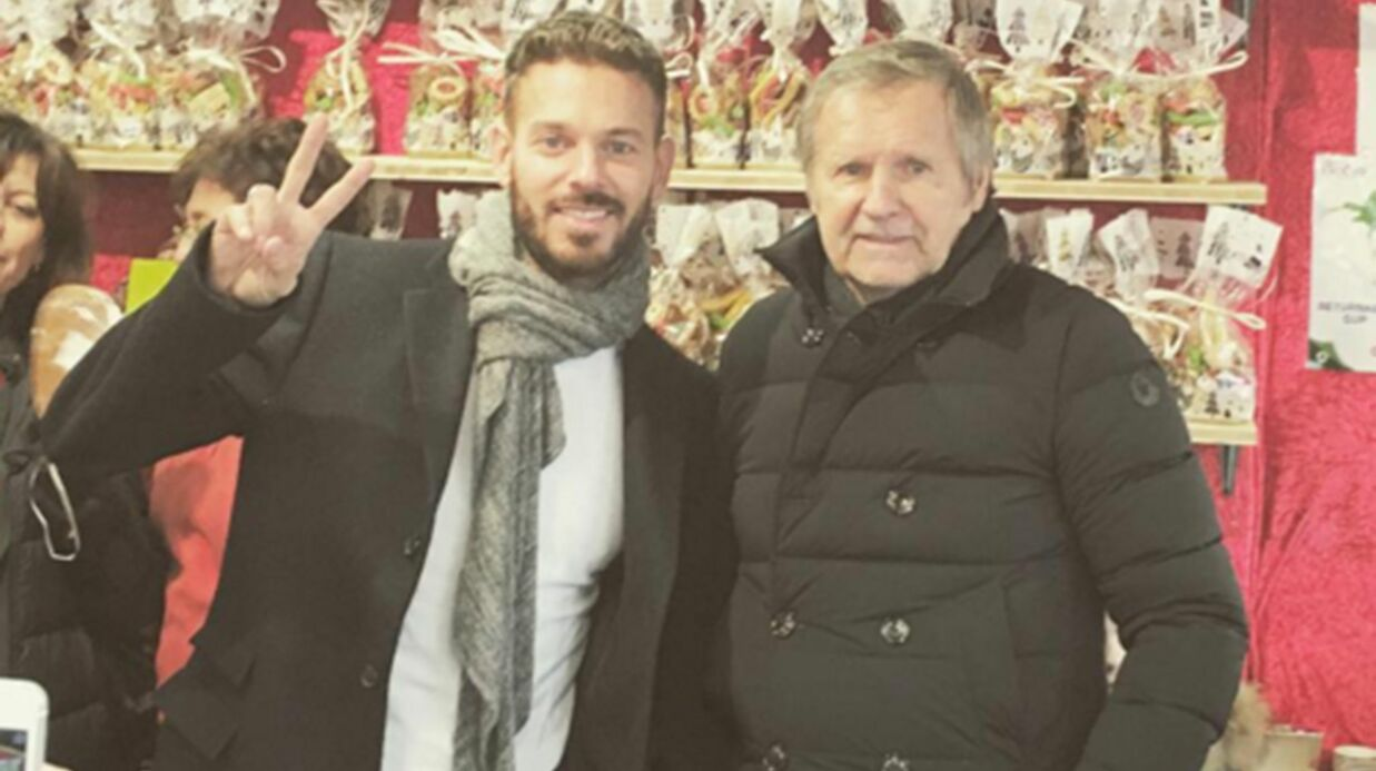 PHOTO M. Pokora retrouve son papa au marché de Noël de Strasbourg