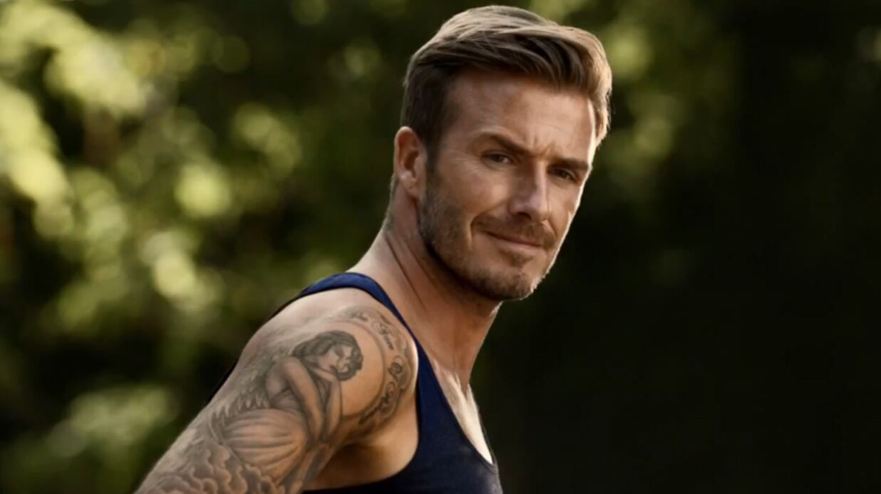 VIDEO David Beckham: une folle course en boxer pour H&M