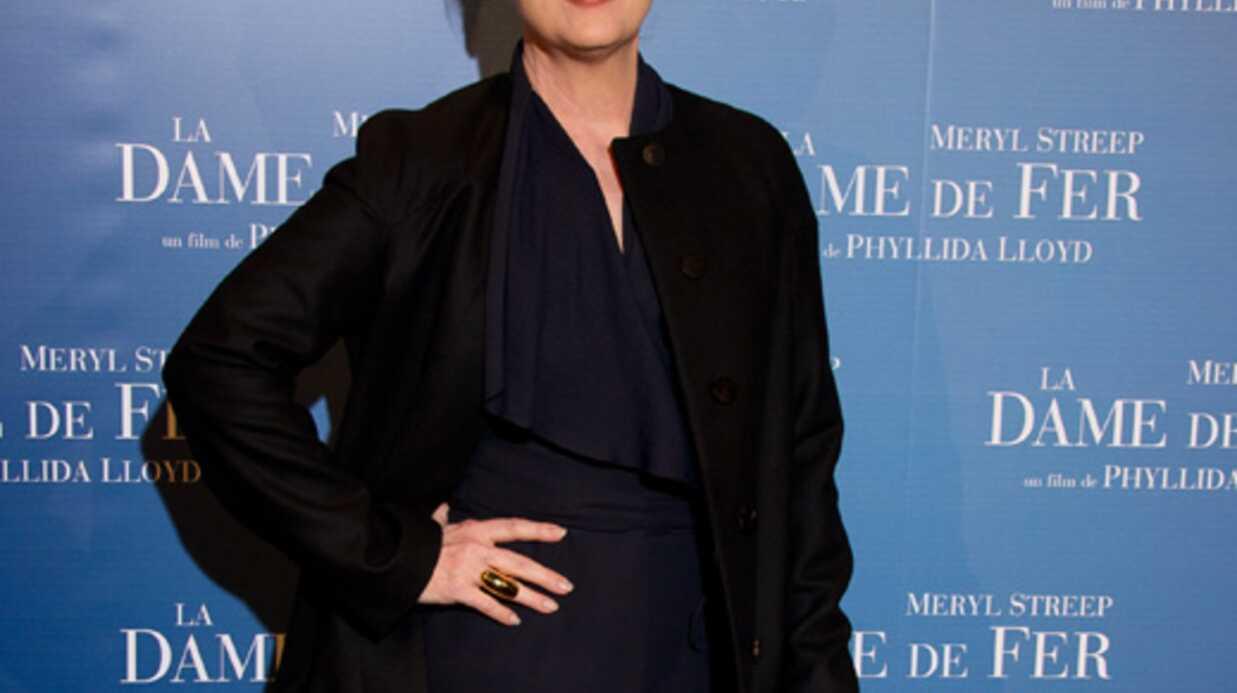 PHOTOS Meryl Streep à Paris pour l'avant-première de La Dame de fer