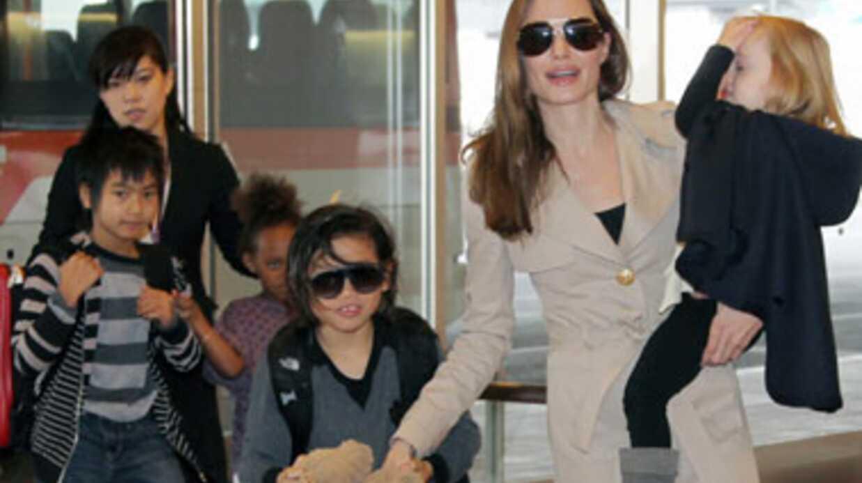 Les enfants de Brad Pitt font déplacer la police et un hélicoptère