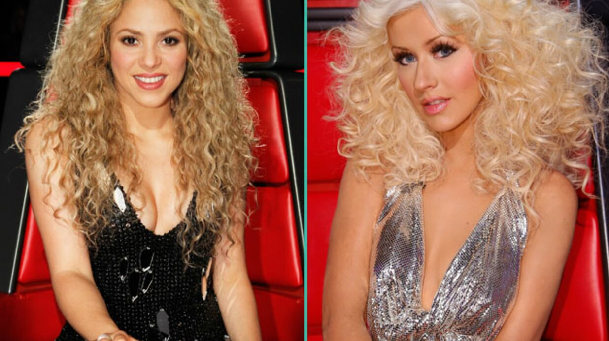 DIAPO Shakira, Chris­tina Agui­le­ra… Les jurys de The Voice à travers le monde