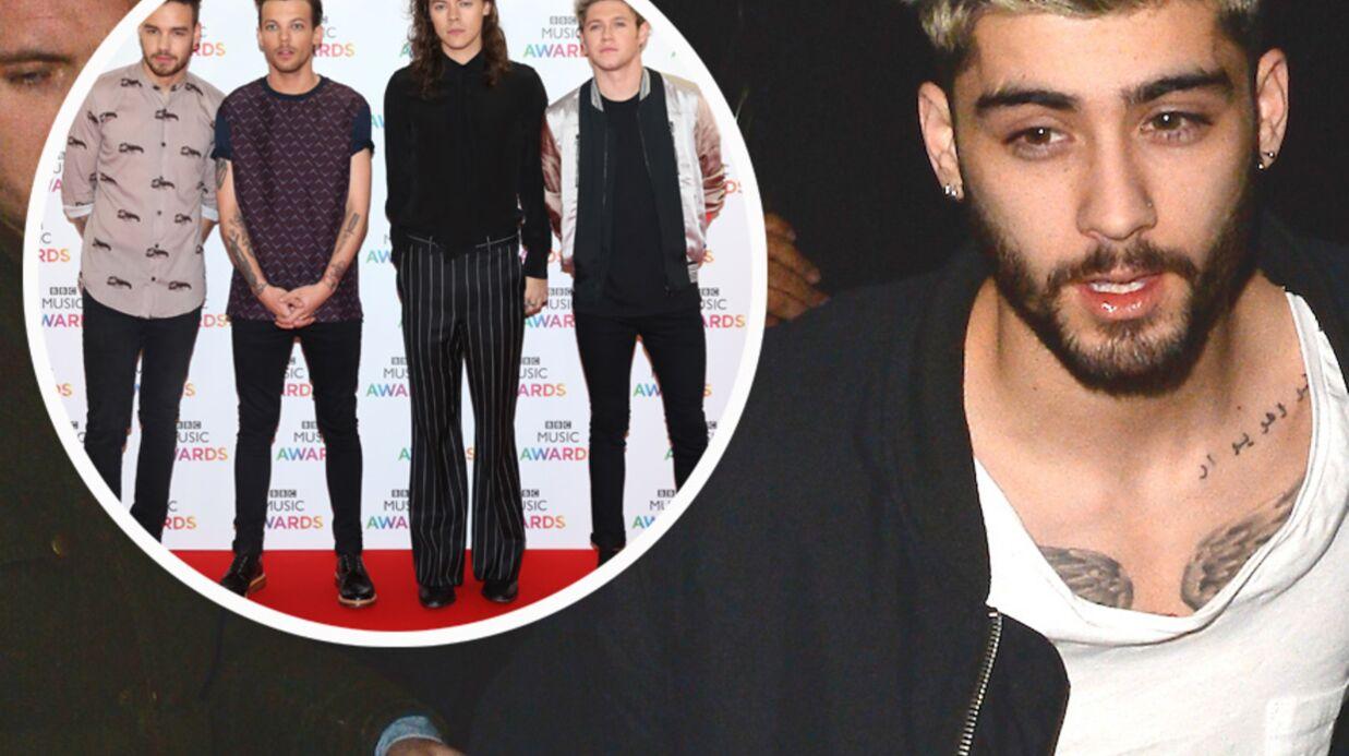 Zayn Malik n'a plus de nouvelles des One Direction: il les tacle