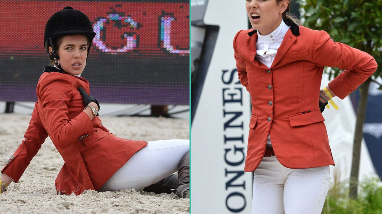 PHOTOS Charlotte Casiraghi chute de cheval lors d'une compétition d'équitation à Paris