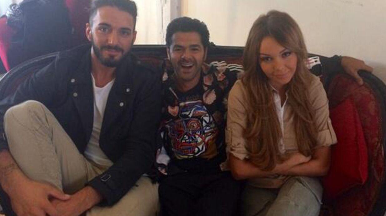 PHOTOS Nabilla et Jamel très complices dans les coulisses du Comedy Club