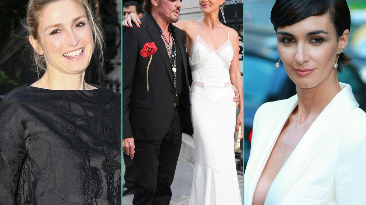 PHOTOS Julie Gayet, Johnny et Læticia Hallyday au milieu de stars de la mode pour Vogue