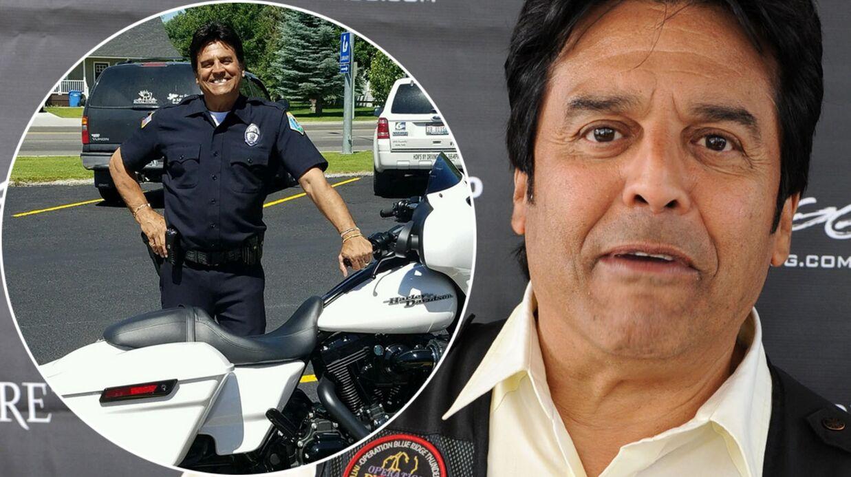 PHOTOS Erik Estrada: l'ex-policier de CHIPs devient un vrai policier!
