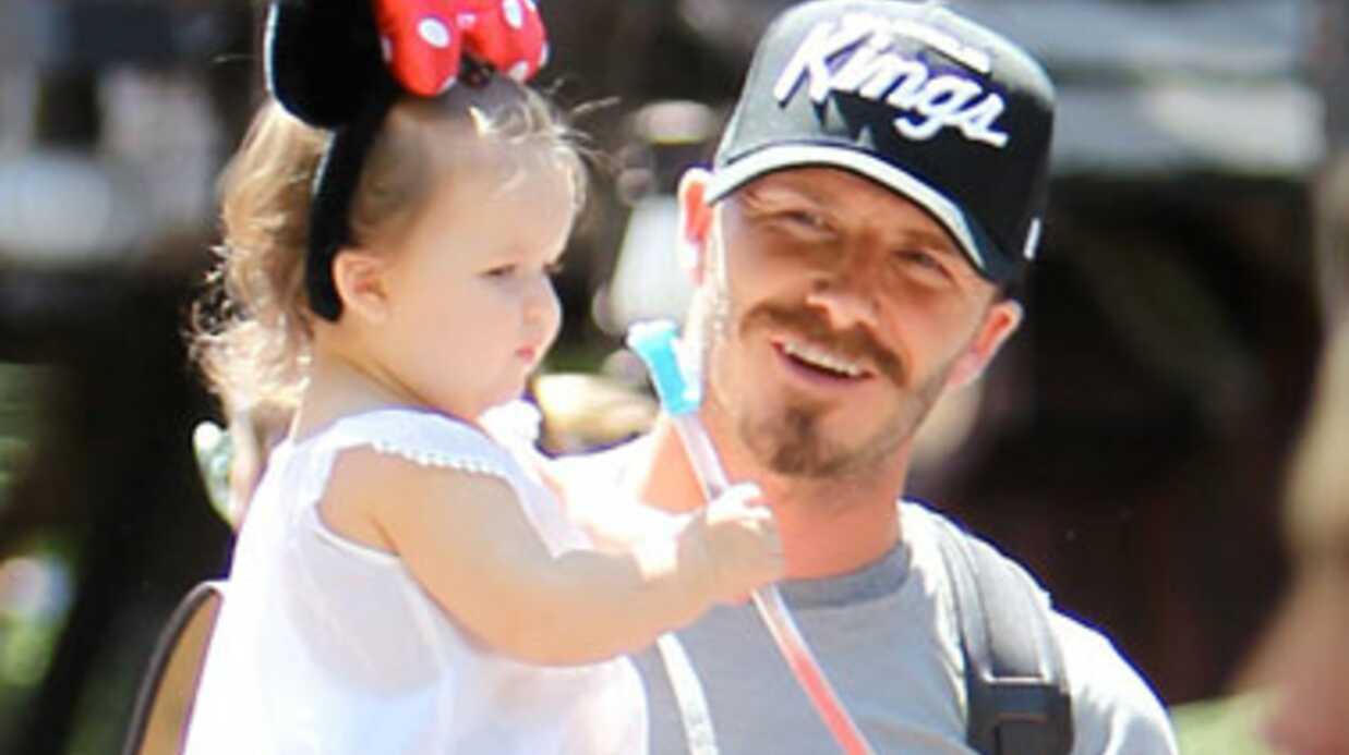 PHOTOS La famille Beckham s'éclate à Disneyland