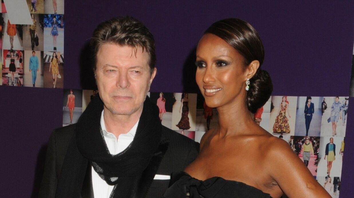David Bowie: sa veuve Iman poste un touchant message à l'occasion de leur anniversaire de mariage