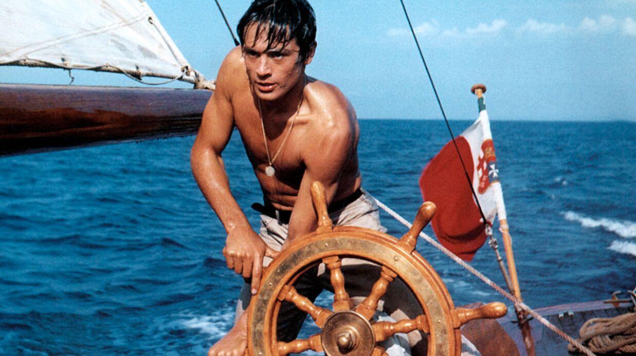 La carrière d'Alain Delon honorée au Festival de Cannes