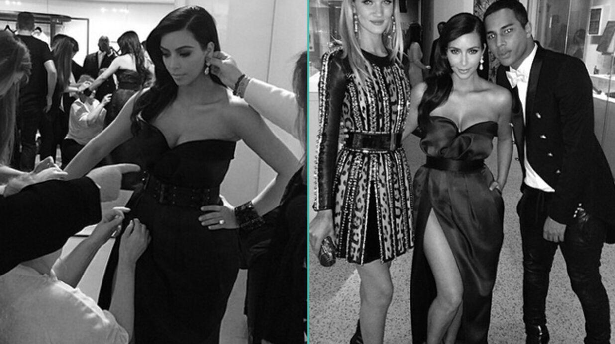 Kim Kardashian: ses photos des coulisses de la soirée du Met Ball