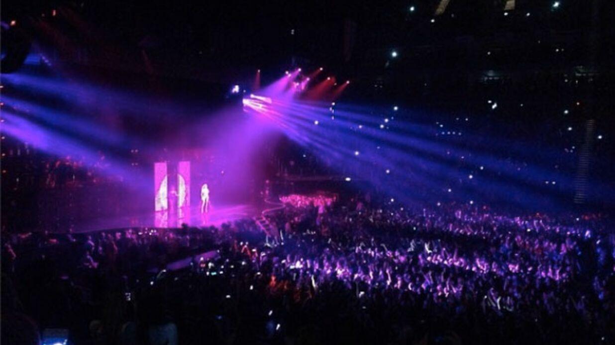 PHOTOS Alexandra Lamy et sa fille s'éclatent au concert de Beyoncé