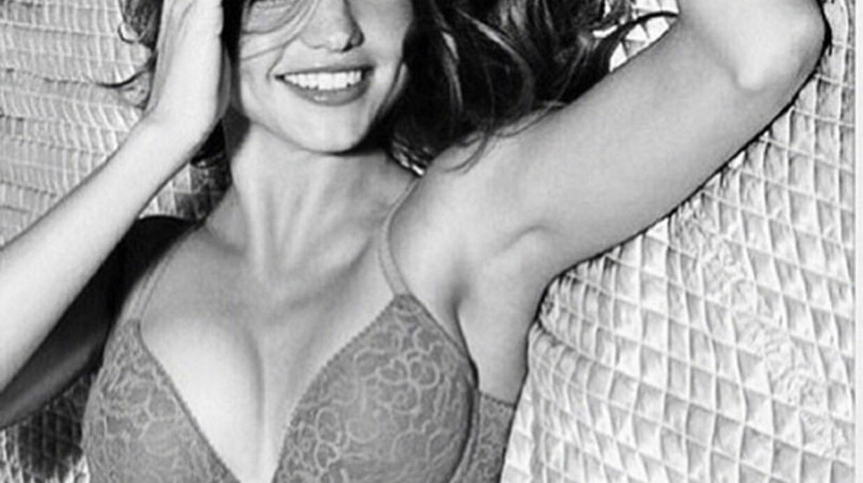 Miranda Kerr passe de Victoria's Secret à Wonderbra