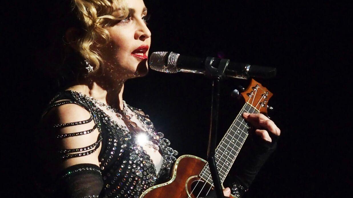 VIDEO Madonna fond en larmes sur scène en évoquant son fils Rocco