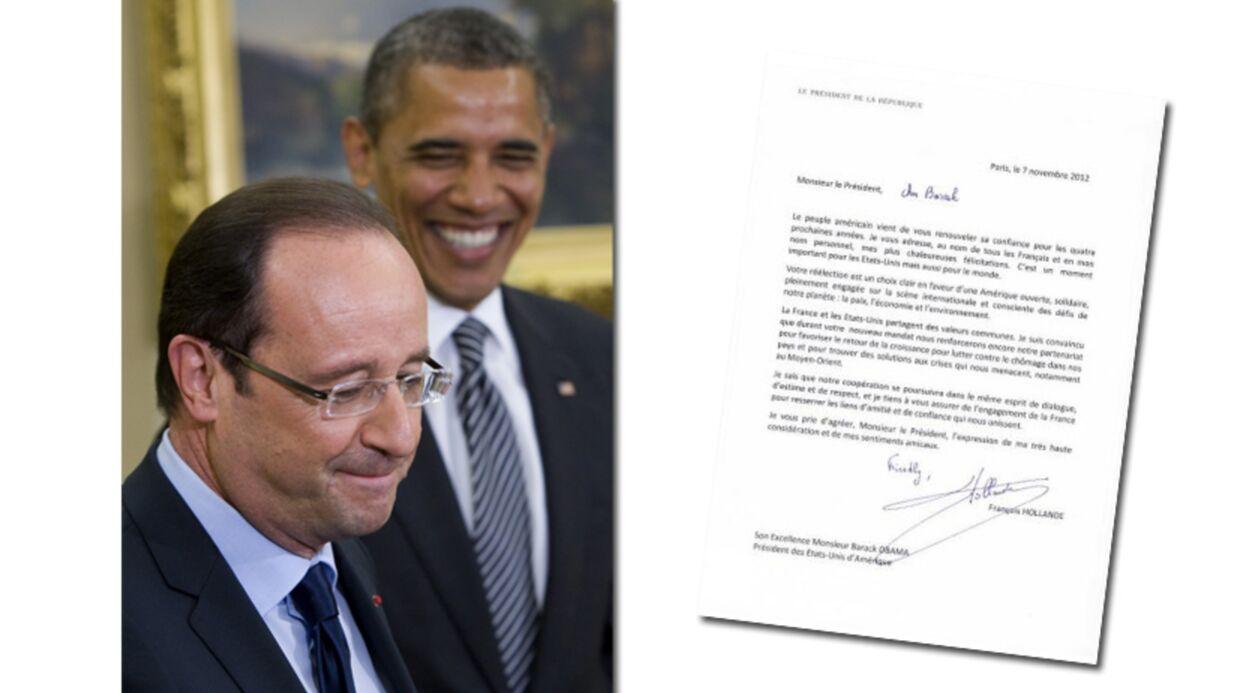 François Hollande félicite Obama et fait une faute de traduction