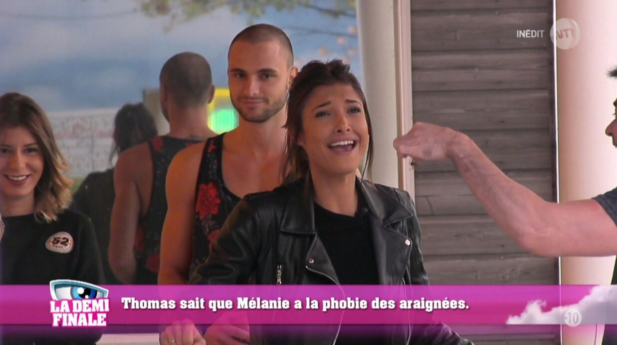 Secret Story 10: séparation de Mélanie et Bastien (acte XII, scène 328)