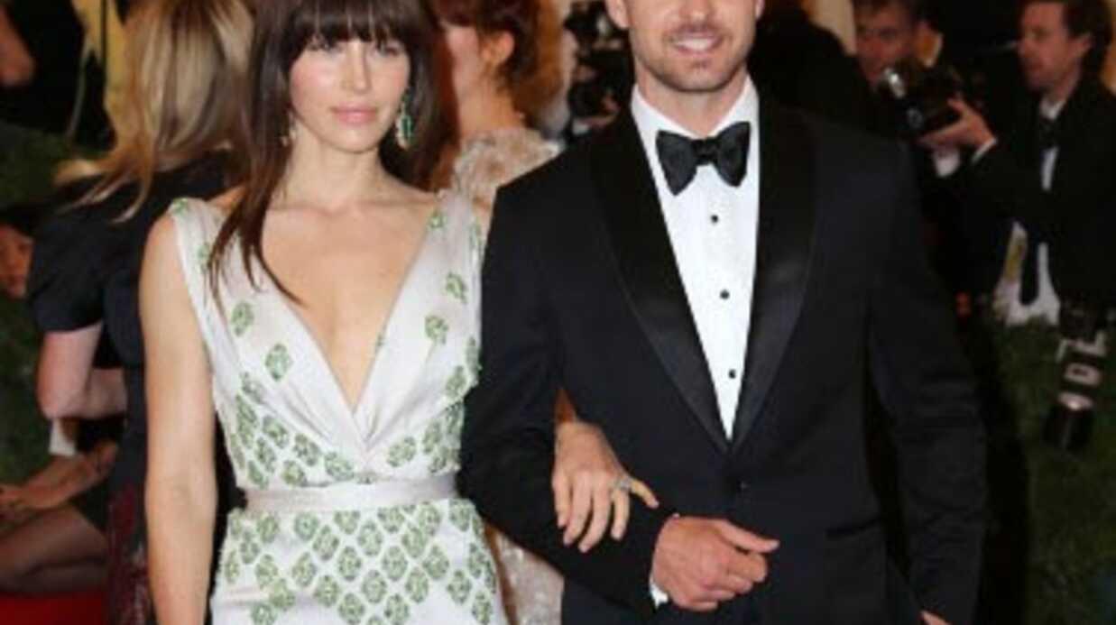 Jessica Biel: pas du tout stressée par son mariage