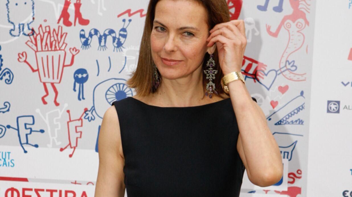 L'accident de Carole Bouquet dans Fais-moi une place raconté par Alessandra Sublet