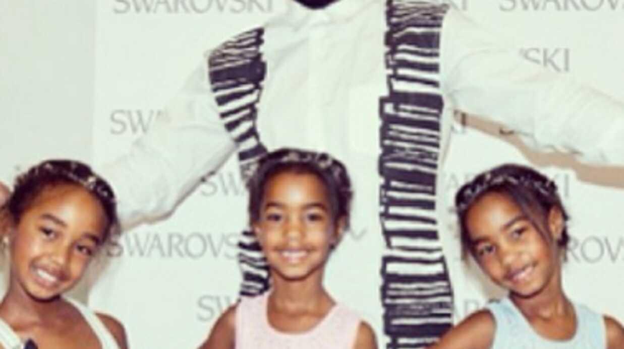 À 7 ans, les filles de P. Diddy défilent pour la Fashion Week